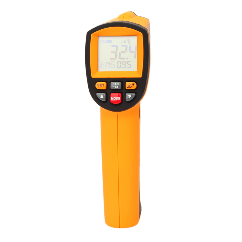 GM1350 Laser infrared thermometer temperature measuring gun multi-function industrial thermometer  - 18 to 1350 degree