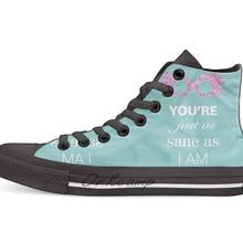 Luna Lovegood/Повседневная парусиновая обувь с высоким берцем; кроссовки; Прямая поставка