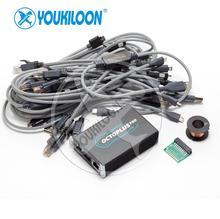 Youkiloon octoplus pro box, 7 in 1 케이블/어댑터 (samsun g + lg + emmc/jtag)