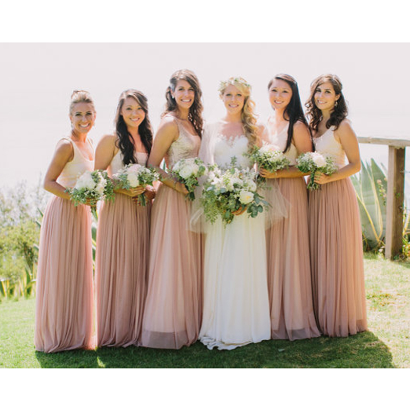 select for newest elegant appearance distinctive style US $30.34 18% OFF|Cheap Chiffon Long Skirt Bridesmaid Separates Skirt Blush  Ivory Navy Black Vintage Engagement Party Skirt Any Color Free-in Skirts ...
