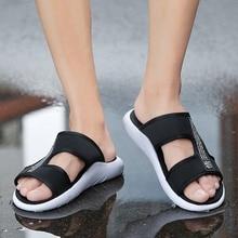купить Roman Men Casual Man Beach Sandals 2019 Summer Shoes Gladiator Men's Sandals Shoe Flip Flops Large Size 46 Flat Sandals Fashion по цене 524.01 рублей