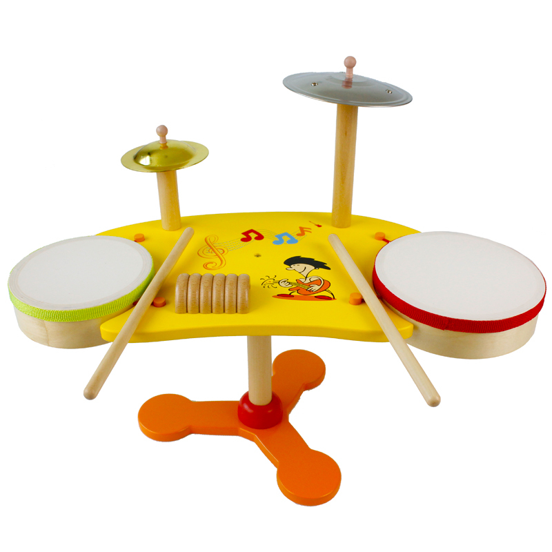Toy Drum Musical Instruments : New arrived baby toys shelf drum music toy child drums kit