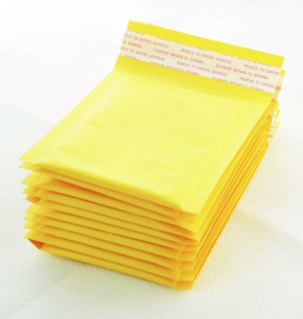 120140mm 10pcslots small size bubble mailers padded envelopes packaging shipping