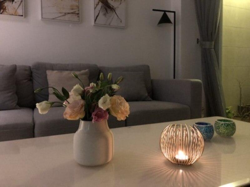 Creative Scandinavian Style Lightweight Candlestick Table Romantic Candlelight Dinner Props European Style Wedding Candle Holder in Candle Holders from Home Garden