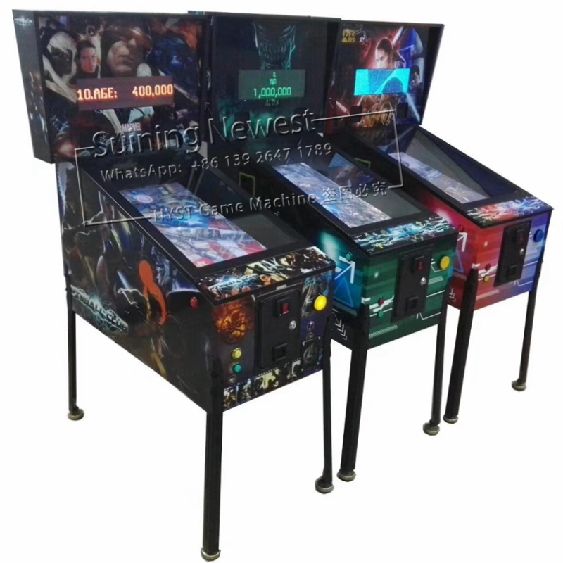 China Factory Price Game Hall Amusement Center Coin Operated Video Arcade Game Machine Club Pinball Machine
