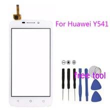 Смартфон Huawei Y541 Y5 Y5c Y541-U02 сенсорный экран планшета переднее стекло Len бесплатная доставка