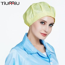цены Hat Chapel Male Dust -proofing Workers Chef Oil Proof Anti -static Electricity Workshop Food Labour Cap Top Resirable Tail