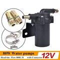 12 V/24 V 80 W Eléctrico Automático A/C Calentador de Bomba de Calor de Agua A/C Calor fortalecer Acelerar los coches Universales Del ciclo del Agua para el invierno