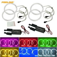 FEELDO 1Set Car CCFL Halo Rings Angel Eyes LED Headlights For BMW E46 2D/Z3 95-02 Coupe/Roadster DRL #FD-4154