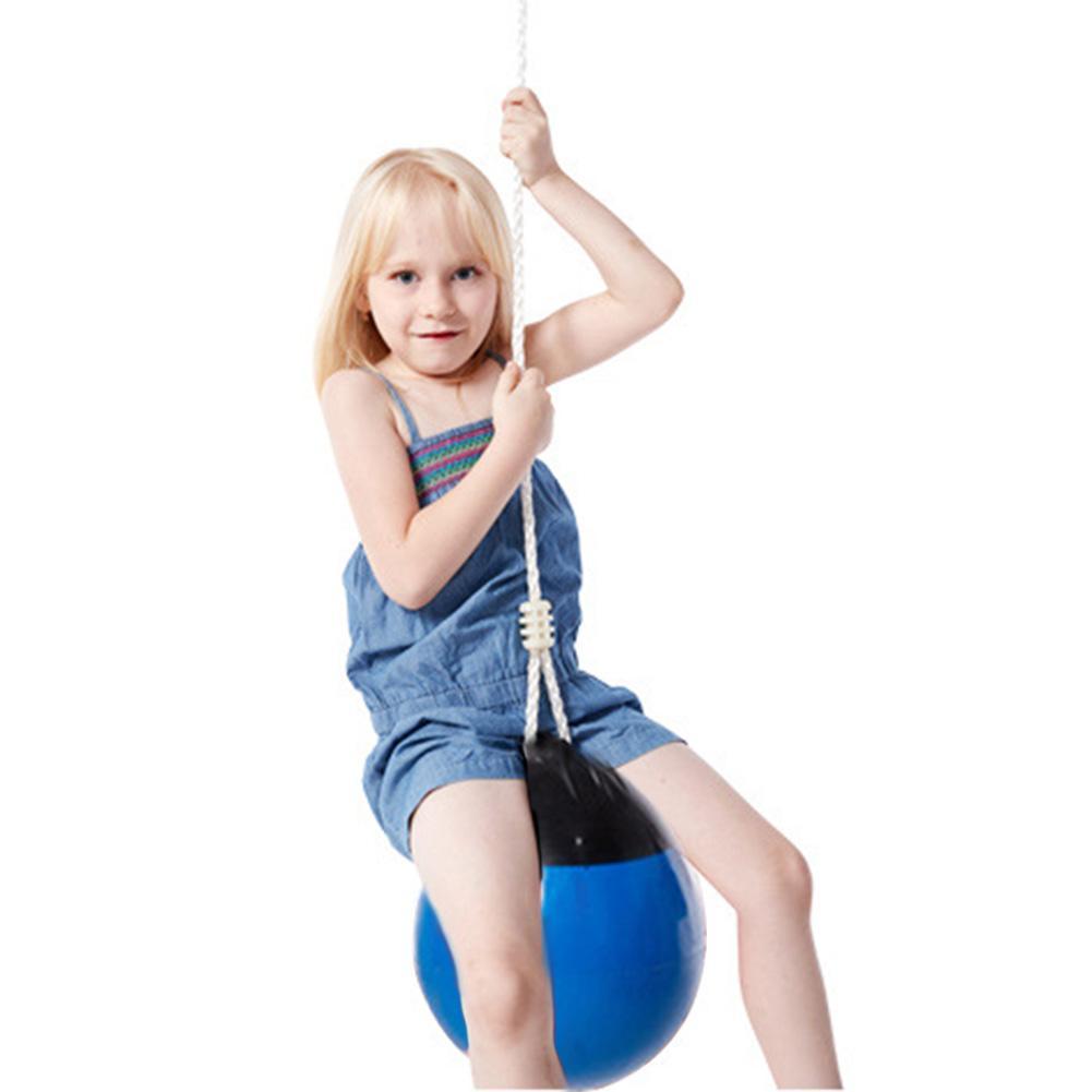 Enfants balançoire balle avec chaîne de corde enfants jouer jeu jouets ensemble cadeau extérieur intérieur jouer jouets pour enfants enfants