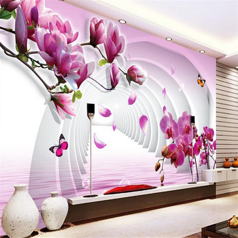 3d modern custom photo wallpaper living room bedroom background wall mural stereoscopic minimalist magnolia flower wallpaper custom wall mural wallpaper modern minimalist fashion 3d stereoscopic flower butterfly living room tv background wall painting