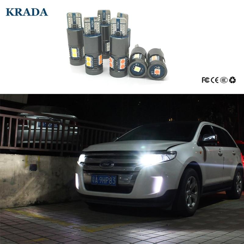 KRADA 2x Canbus T10 W5W Car LED Bulbs for VW Golf 4 5 6 7 Passat B7 B5 B6 CC Jetta Polo Beetle Touareg Touran Bora Tiguan Eos
