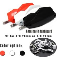 Handlebar handguards Hand Guards Fit 7/8 22mm Bar Or 1-1/8 28mm Fat Motorcycle Motorcross Dirt Bike ATV Quad