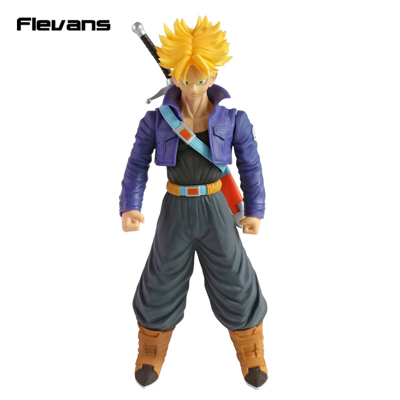 Dragon Ball Z Super Saiyan Trunks Super Big 41cm High Quality PVC Action Figure Collectible Model Toy dragon ball z broli 1 8 scale painted figure super saiyan 3 broli doll pvc action figure collectible model toy 17cm kt3195