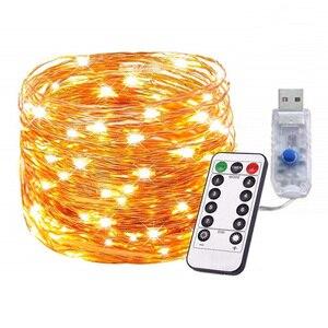 USB LED Merry Christmas Garlan