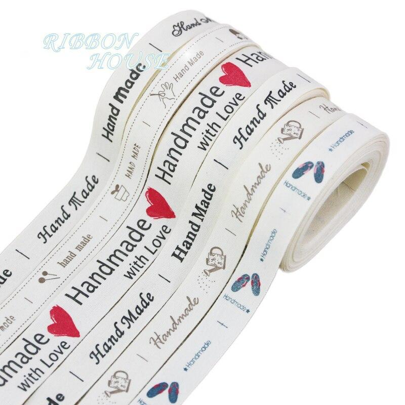 (5 Meter/roll) 15/20mm Weiß Baumwolle Gedruckt Hand Made Bänder Gurte Diy Spitze Stoff