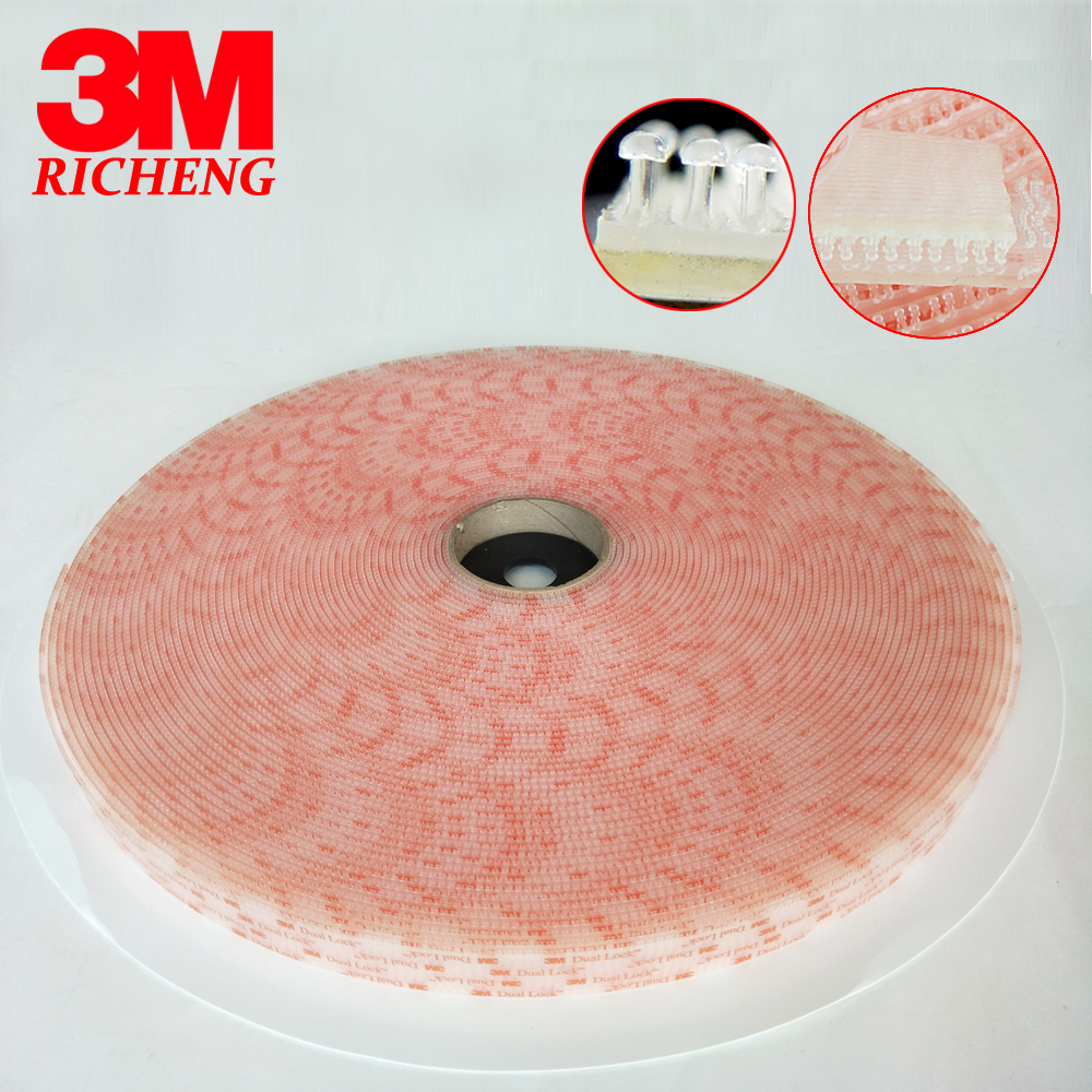 100% Original 3M products dual lock double sided tape SJ 3560 3m clear tape adhesive tape double sided 1in*50yard 1rolls/lot