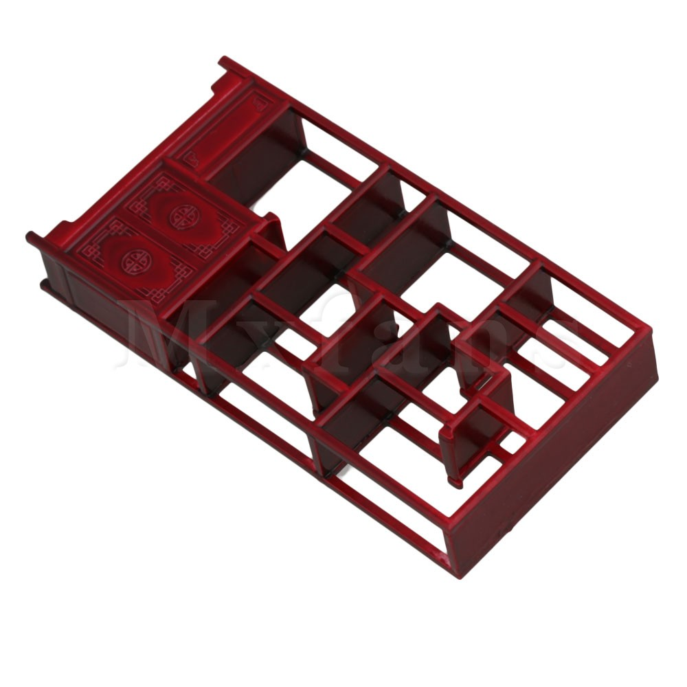 ABS Miniature Furniture Rosewood Chinese Cabinet 1:25 Dollhouse 40x12x80mm