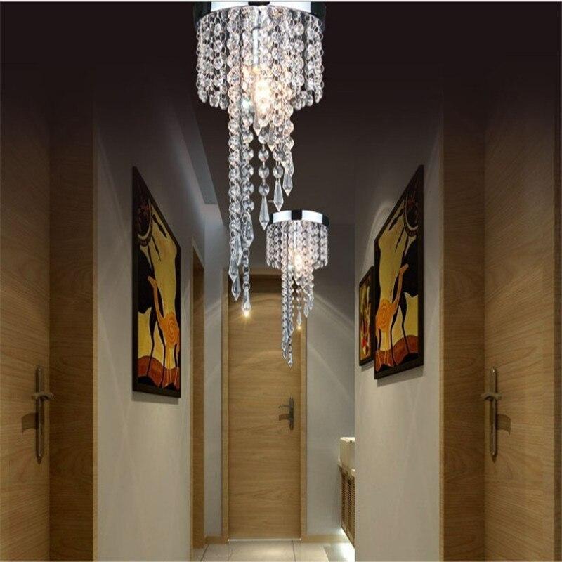 Современный хром/золотой блеск светодиодный хрустальные светильники потолочные светильник потолочный светильник кристаллы plafondlamp lampadari avizeler xiaomi ceiling light led ceiling light led lamp ceiling cristal