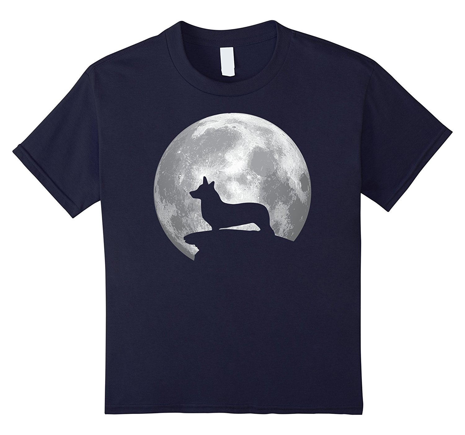 2018 T Shirts For Men Cotton Summer Style Welsh Corgi Cardigan Dog T-shirt Halloween Costume Cheap Tee Shirts
