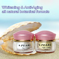 Pearl whitening & anti aging anti wrinkle face cream skin care