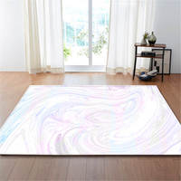 Nordic Marble Pattern Printed Carpets Area Rug Soft Flannel Anti slip Tea Table Mats Bedroom Bedside Living Room Carpets
