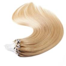 Пряди волос с микрокольцами