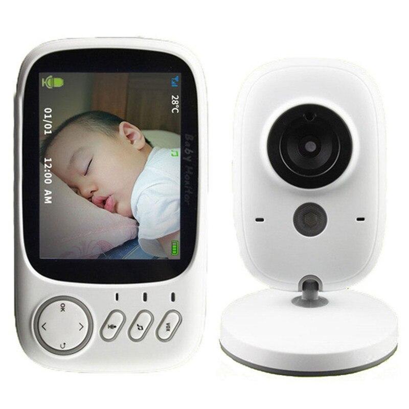 MBOSS VB603 3,2 pulgadas Monitor de bebé de seguridad Cámara 2 hablar de vídeo y Audio Monitor de bebé electrónico niñera
