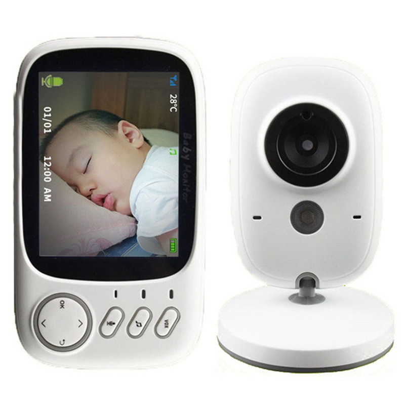 VB603 Wireless Baby Monitor Security Home Camera 3.2 inch 2 Way Talk Video&Audio Baby Monitor Electronic Babysitter