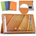 Кожаный чехол для Asus Zenpad 8.0 Z380 Z380C Z380KL 8 дюймов tablet смарт услуга магнитный держатель стенд крышка защитная shell