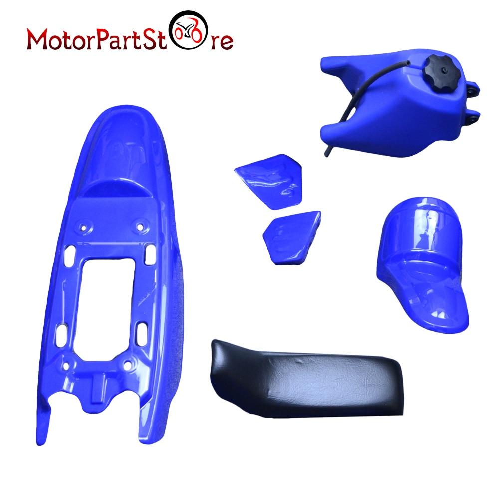 FOR YAMAHA PW50 PW 50 PLASTIC SEAT GAS TANK KIT BLUE PIT BIKE PW-50FOR YAMAHA PW50 PW 50 PLASTIC SEAT GAS TANK KIT BLUE PIT BIKE PW-50