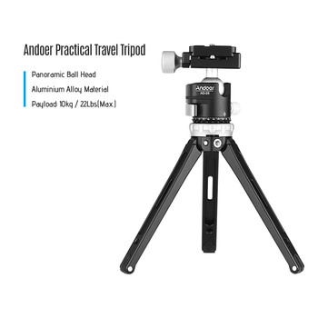Desktop Mini camera stand Tripod for phone Photographic accessories for GoPro Hero 7/6/5/4/3 Max . Load Capacity 10kg/ 22Lbs