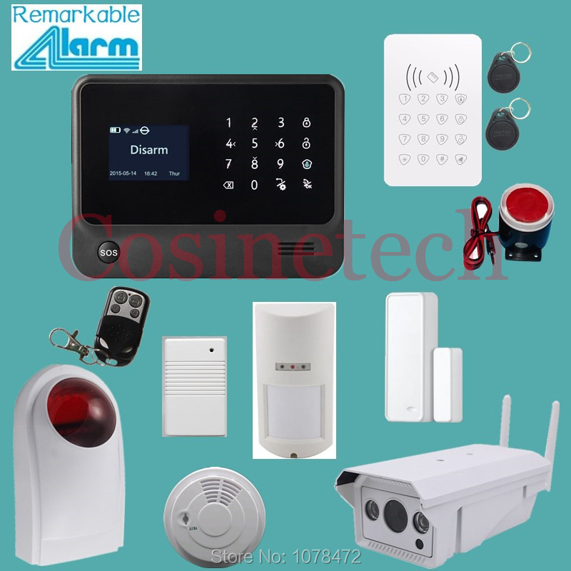 Original IOS Android APP,wifi gprs gsm Home security Alarm System with waterproof wifi IP camera,multilanguage G90B alarm system arduino atmega328p gboard 800 direct factory gsm gprs sim800 quad band development board 7v 23v with gsm gprs bt module