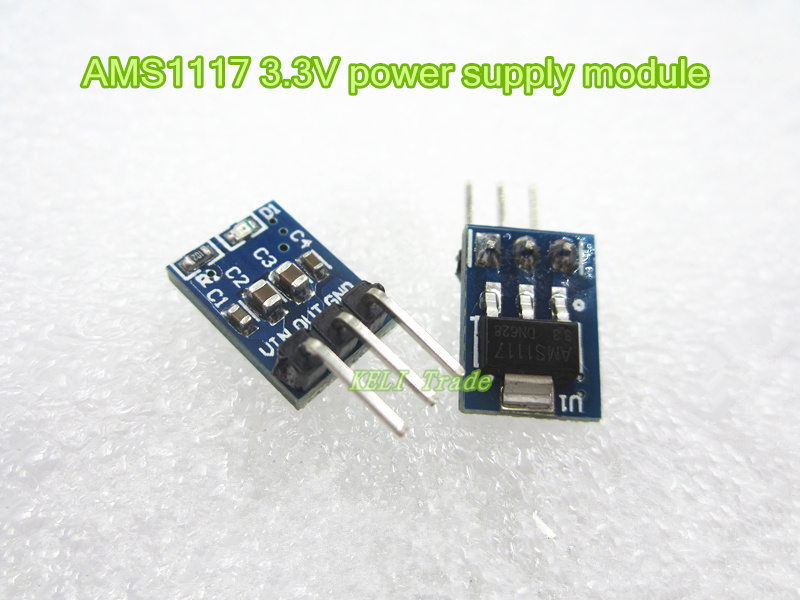 все цены на 1pcs  AMS1117 3.3V power supply module AMS1117-3.3 power module AMS1117-3.3V онлайн