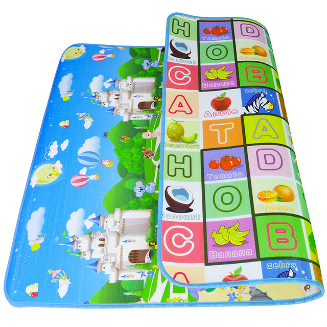 1cm Thick Baby Crawling Thick Play Mat , EVA Foam Mat ,Educational Alphabet Game Rug For Children Puzzle Activity Gym Carpet | Happy Baby Mama