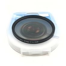 Cpl Circulaire Polarisator Camera Filter Voor Canon Nikon Dslr Camera Lens 52Mm/55/58/62/67/72/77/82Mm
