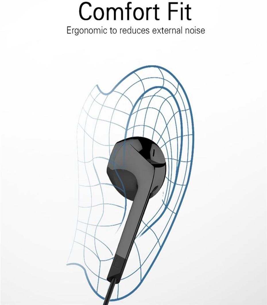 Half in ear earphone_