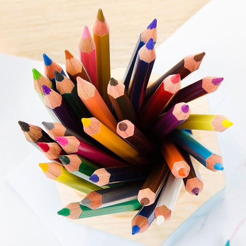 Lápis de Cor de Desenho de Desenho Marco Renoir 24/36/48/72/100