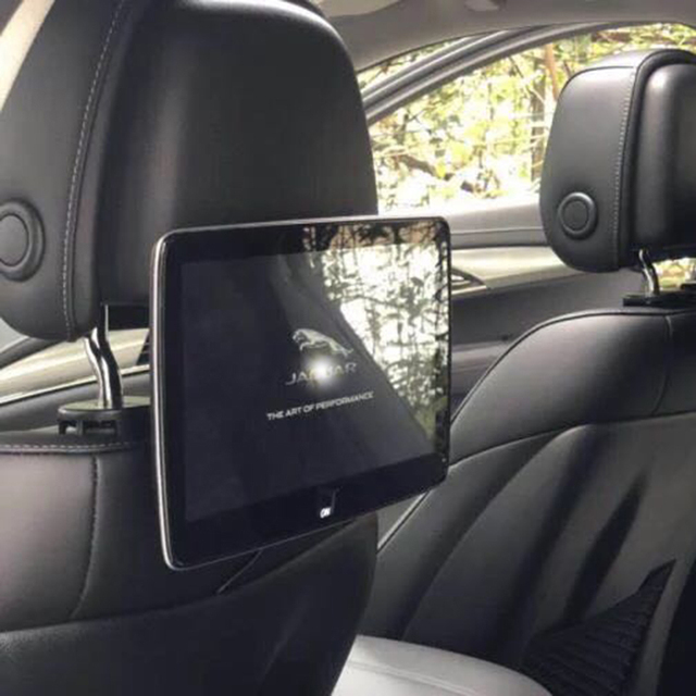 Auto Tv Headrest Monitor Android Rear Seat Entertainment Systems For Jaguar All Models Car Screens Pillow
