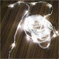 Ano novo Cristmas LEVARAM Luzes De Natal Ao Ar Livre AC220V 10 M LEVOU Waterfull Luzes Da Corda de Natal Guirlandas de Luces Navidad