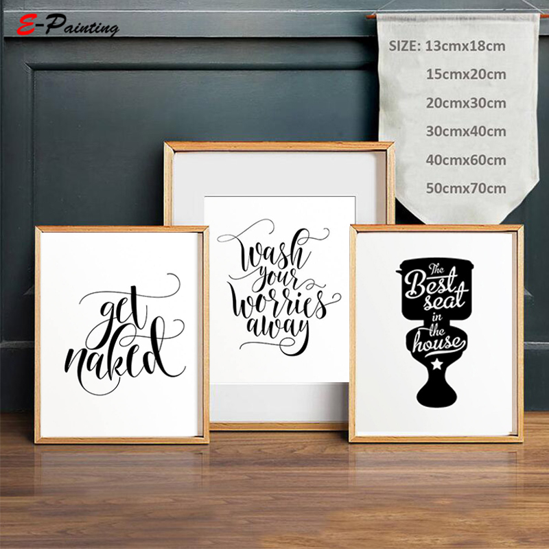 Tremendous Funny Kids Bathroom Signs Art Best Seat In The House Wall Decor Canvas Painting Decoration Picture No Frame In Painting Calligraphy From Home Download Free Architecture Designs Embacsunscenecom