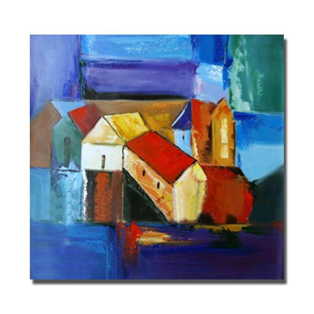 € 9.17 30% de réduction Pas cher moderne maison peintures pour chambre  décor jolie peinture à l\'huile sur toile peint à la main mur photos pas  encadré ...