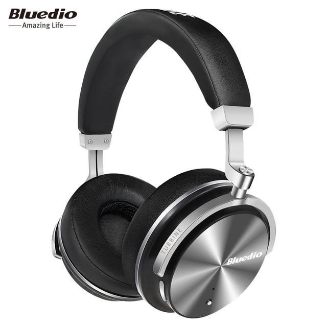 2017 D'origine Bluedio T4S bluetooth casque avec microphone ANC active du bruit annulation casque sans fil