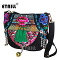 Ethnic Boho Brand Embroidered Bag Chinese Handmade Hmong Embroidered Bags Flower Embroided Bags Women Sac Besace Ethnique Brode