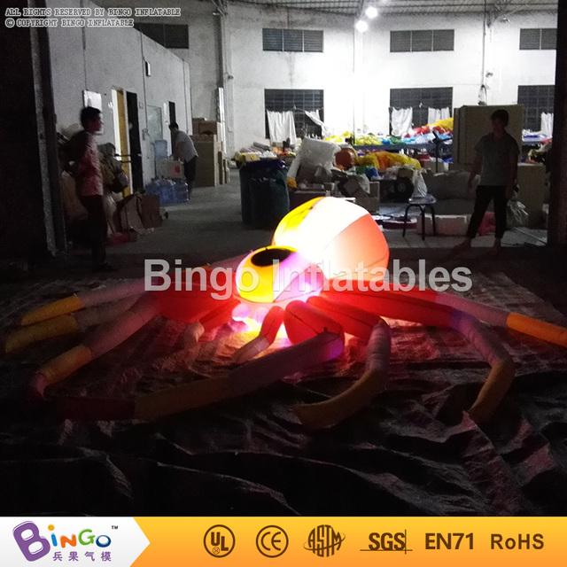 Inflables de halloween araña colgando 10ft./3 m decoración de halloween con ventilador Incorporado BG-A803-3 juguete
