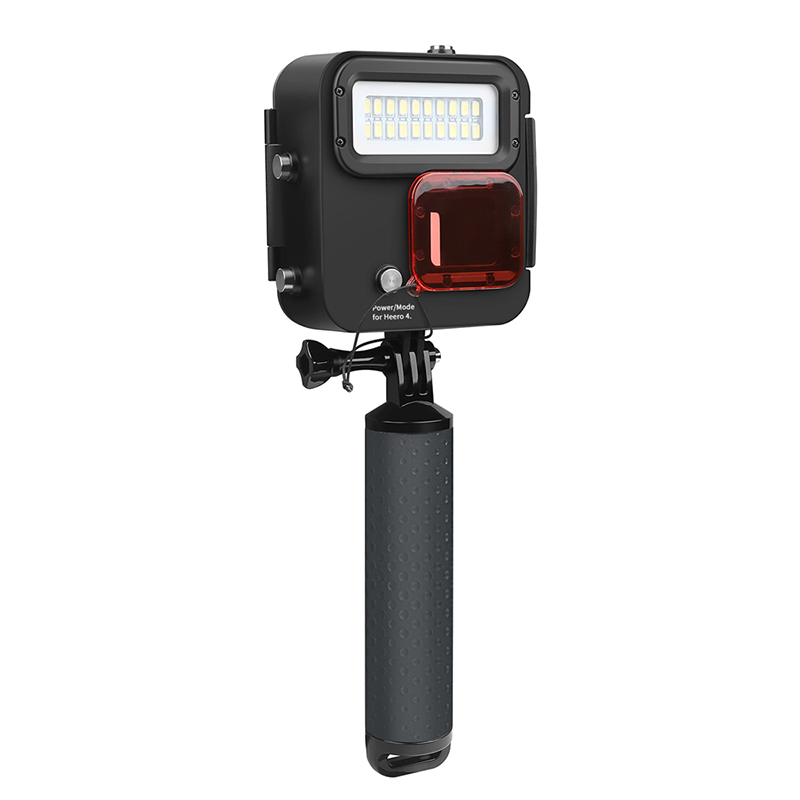 Led Underwater Lights Led Lamps Led Lights In One Kangaroo Diving Lights Lb88 We Take Customers As Our Gods 2019 Latest Design For Gopro Hero6/5/4 Waterproof Shell