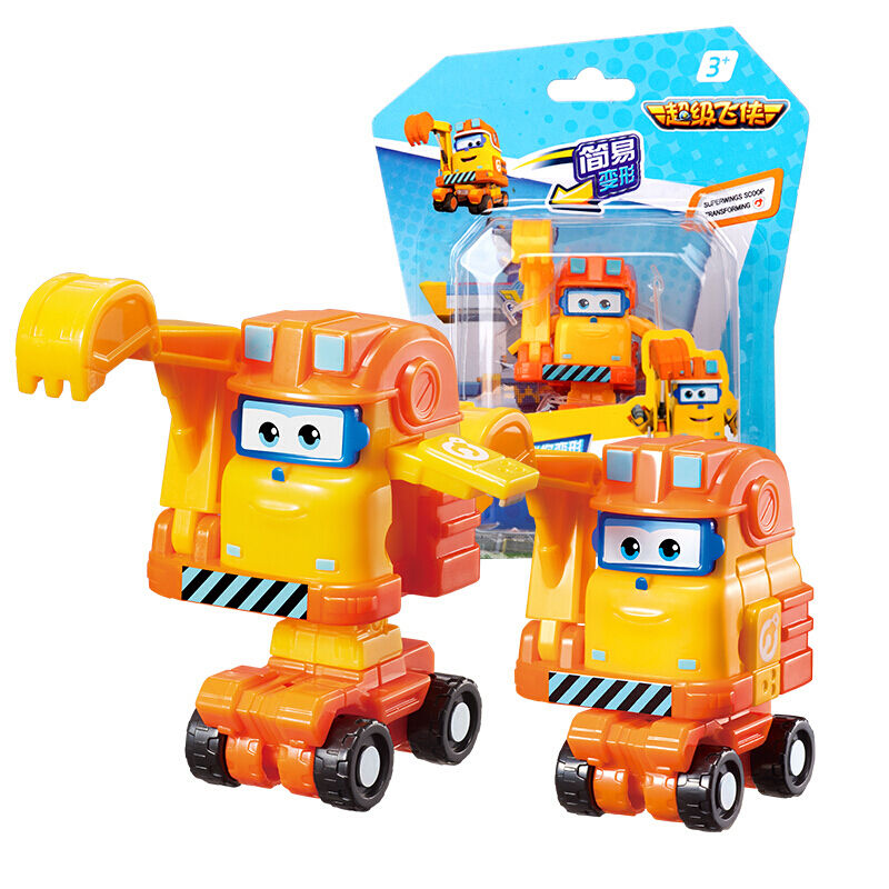 Robot Toy Transformation-Toy Airplane Super-Wings Action-Figures Mini Newest ABS 5-Season