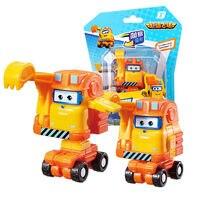 最新ミニスーパー羽 5 シーズン変形ミニ飛行機 ABS ロボット玩具アクションフィギュアスーパー翼ゾーイ/スクープ変換おもちゃ