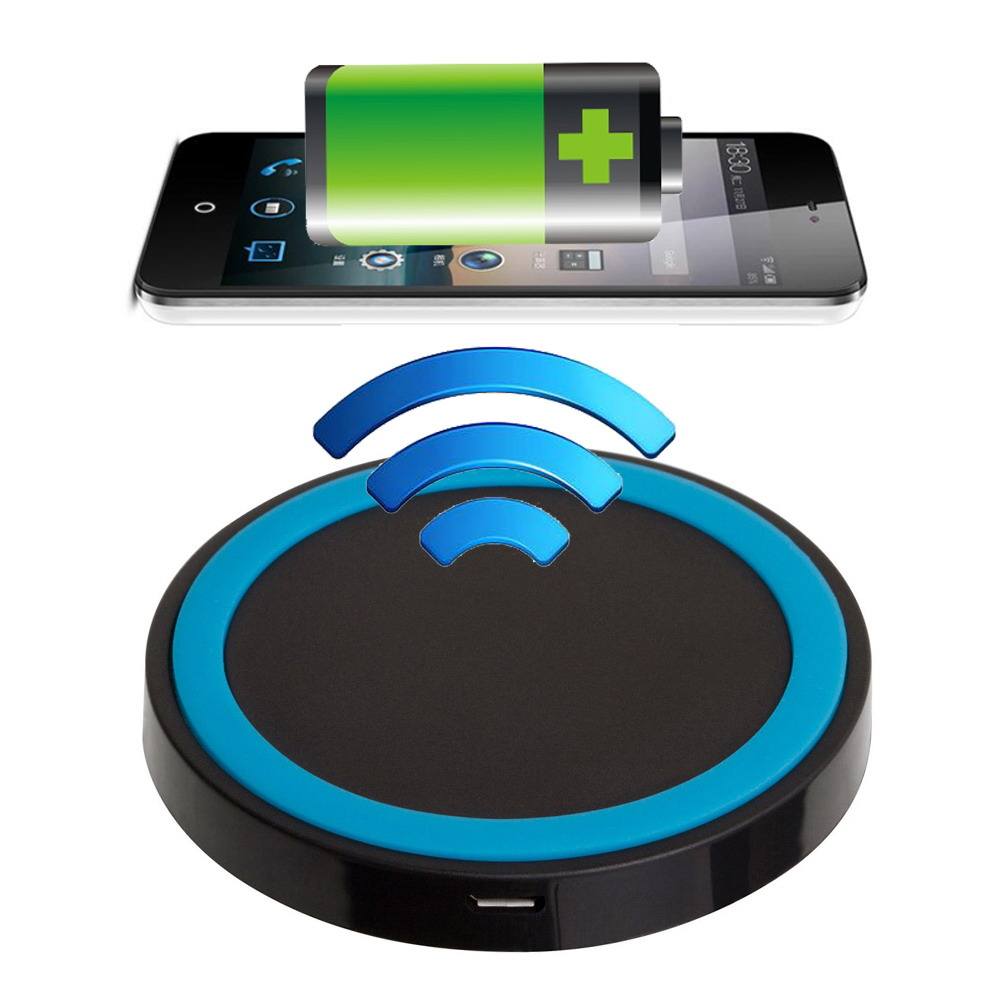 ALLOET Mini Qi Wireless Charger USB Charging Pad for iPhone 6 6plus Samsung Galaxy S1 2 3 4 Note1 2 3 4 Nokia Lumia 928/920