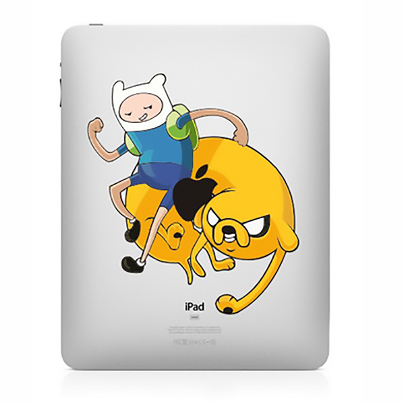 Tablet Decals Funny Stickers The Adventures Of Tintin For IPad1/2/3/4 Air/Pro9.7inch IPad Mini1/2/3/4